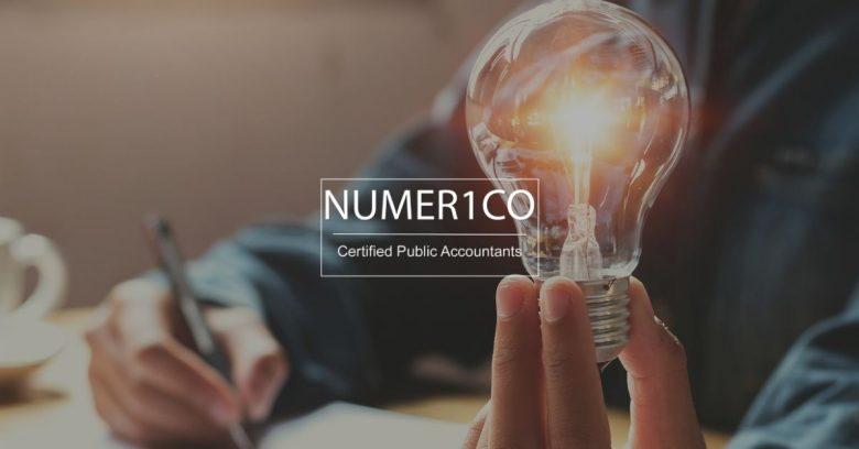 Light bulb - Starting A Business - Numerico