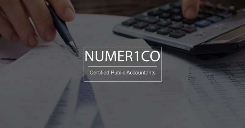 Receipts for taxes - Numerico