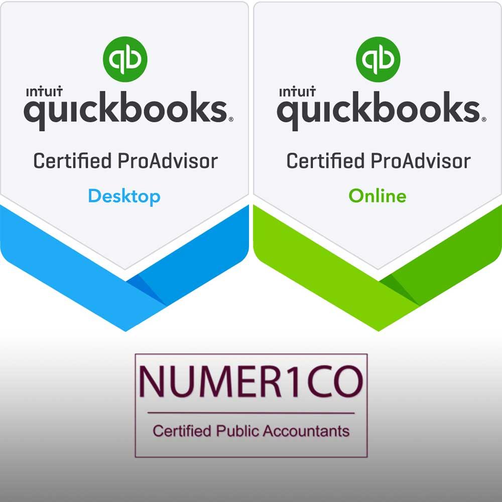Quickbooks ProAdvisor Numerico CPA