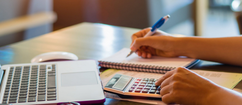 Accountant Doing Bookkeeping - Numerico - CPA Near Northville, MI